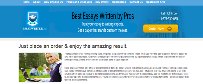 Review of EssayWriter.org Writing Services